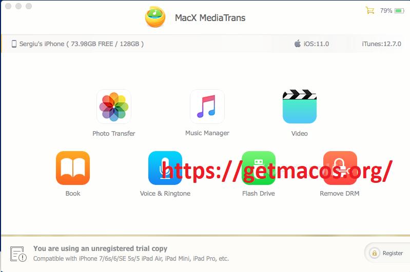 MacX MediaTrans 7.4 Crack With Serial Key 2021 Free Download