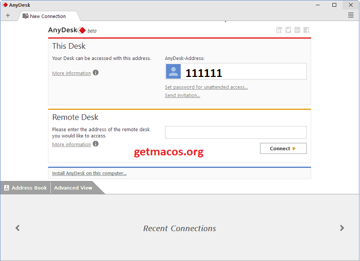 AnyDesk 6.1.0 Crack With License Key 2020 Free Download