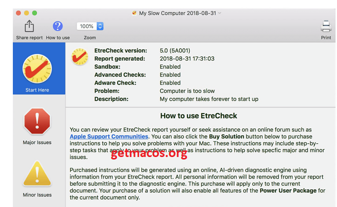 EtreCheck Pro 6.4 Crack With License Number 2021 [Latest] Free