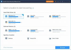 EaseUS Data Recovery Wizard 13.6 Crack With License Code 2021