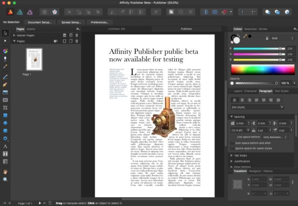 Affinity Publisher 1.9.2 Crack With Product Key 2021 Free Download