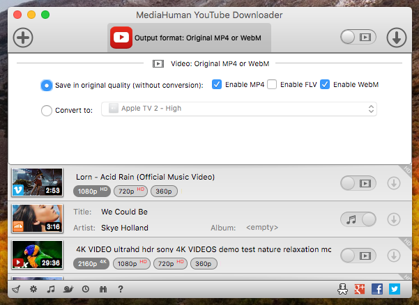 MediaHuman YouTube Downloader 3.9.9.51 Crack With Serial Key Mac