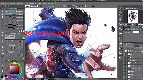 Clip Studio Paint EX 1.10.2 Crack With Serial Key 2021 Free Download