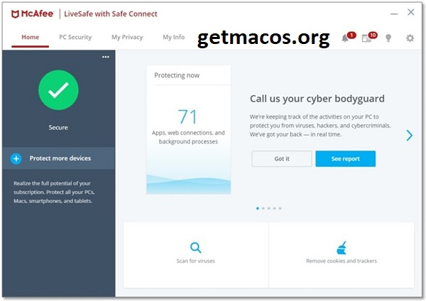 McAfee LiveSafe 16.0 R7 Crack With Activation Key 2021 Free Download